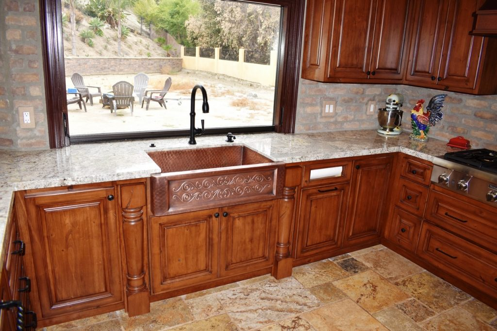 Rustic Kitchen Cabinets Beyond Custom Cabinets Inc